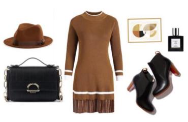 Как стильно одеться в офис зимой (эксклюзив)