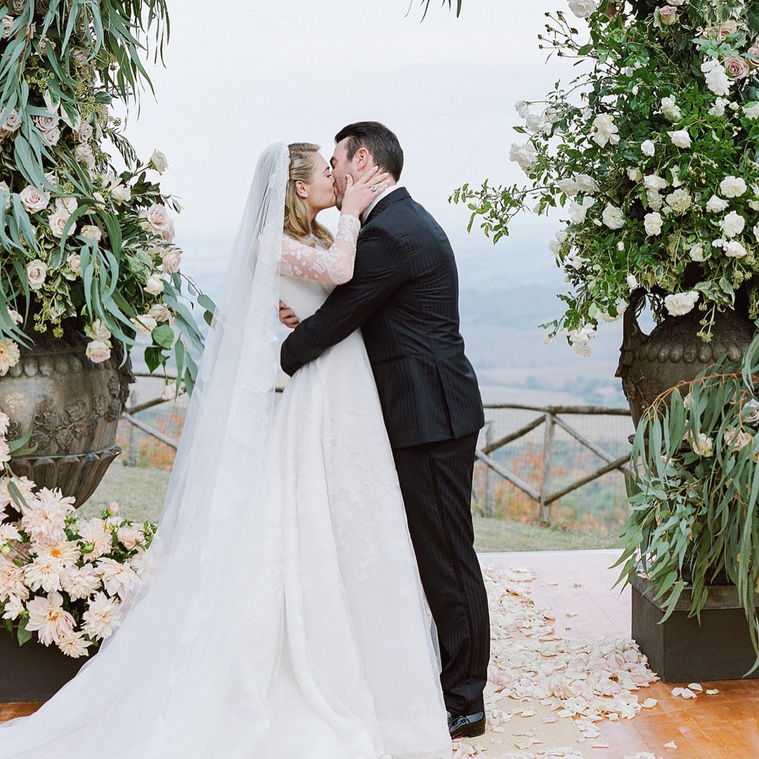 Домашнее фото со свадьбы