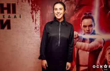 """Джамала засветила округленный живот на премьере фильма """"Звездные войны: Последние джедаи"""""""