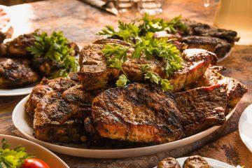 Французский стейк из говядины