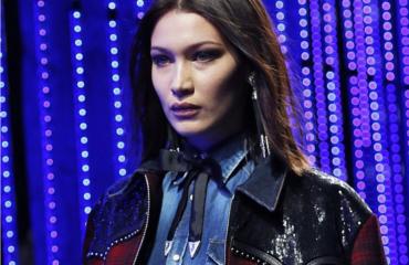 Неделя мужской моды в Милане: Белла Хадид и Кендалл Дженнер приняли участие в показе