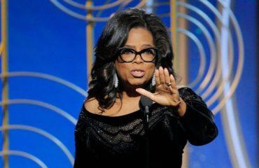 """Вслед за Мерил Стрип: Опра Уинфри произнесла эмоциональную речь на """"Золотом глобусе"""""""