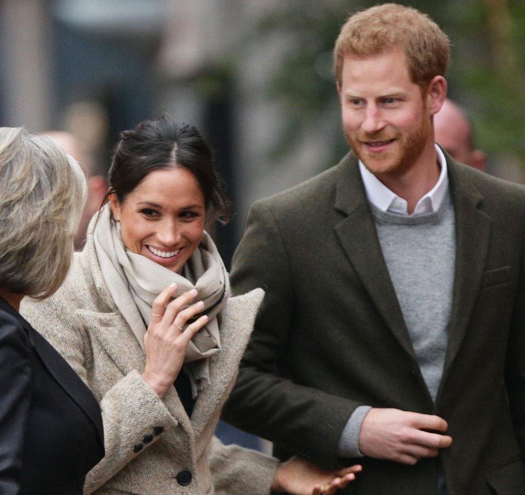 Британский канал снимает фильм о принце Гарри и Меган Маркл