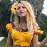 Оля Полякова отметила день рождения на Шри-Ланке