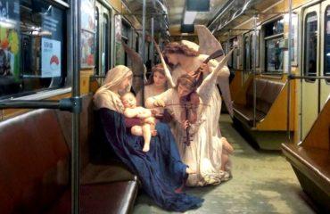 Украинский художник переносит героев классических картин в современность