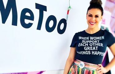 """""""Женский марш"""" в Лос-Анджелесе: голливудские звезды выступили против насилия"""