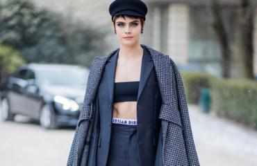 Кара Делевинь, Винни Харлоу, Оливия Палермо и другие звезды, посетившие показ Dior