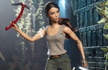 Понравится даже мальчикам: Barbie выпустили куклу Лара Крофт