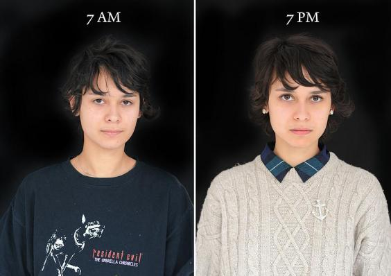 7 утра и 7 вечера: как отличается внешность людей в разное время суток