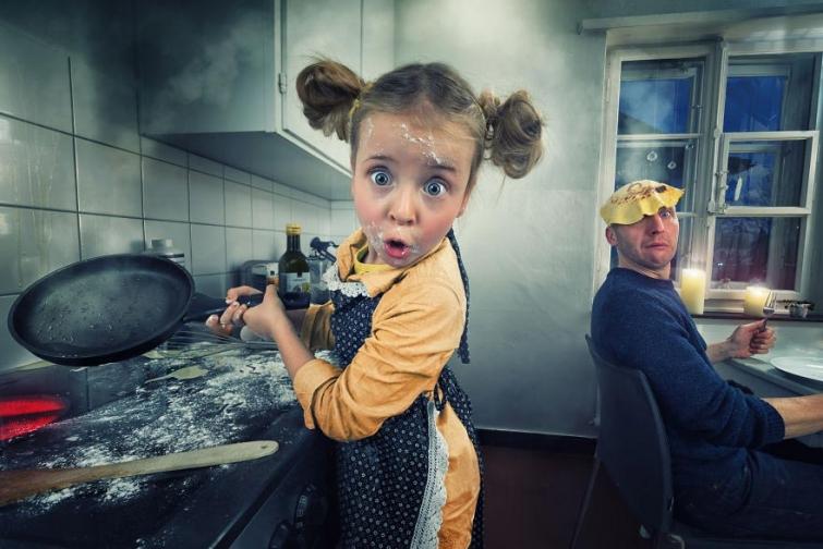 Как сделать ребенку незабываемую фотосессию: пример креативного папы из Швейцарии