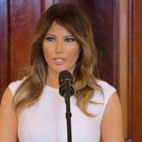 Меланья Трамп выступила с пронзительной речью в Белом доме