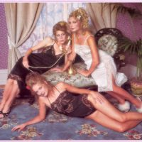 Опубликованы сексуальные фото нижнего белья Victoria's Secret 1979 года