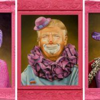 Жизнь в розовом цвете: забавные карикатуры на мировых лидеров