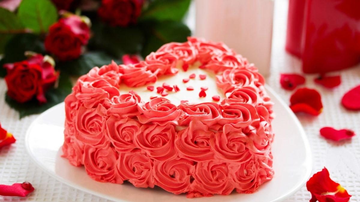 День святого Валентина: как приготовить торт в форме сердца