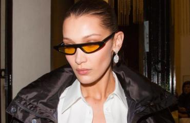 Белла Хадид блеснула в пуховике от украинского дизайнера на улицах Нью-Йорка
