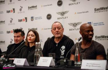 Жан Рено в Киеве рассказал о своем новом франко-украинском кинопроекте