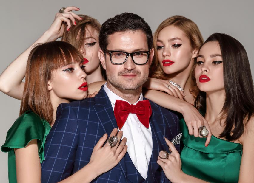 Известный украинский актер стал лицом новой коллекции Андре Тана