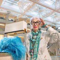 """96-летняя модница Айрис Апфель """"превратилась"""" в куклу Барби"""