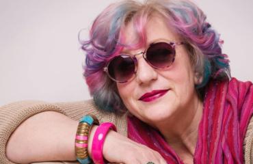 Украинская пенсионерка-хипстер станет лицом всемирно известного косметического бренда