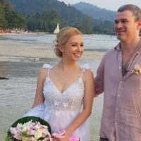 Тоня Матвиенко и Арсен Мирзоян сыграли свадьбу в Таиланде