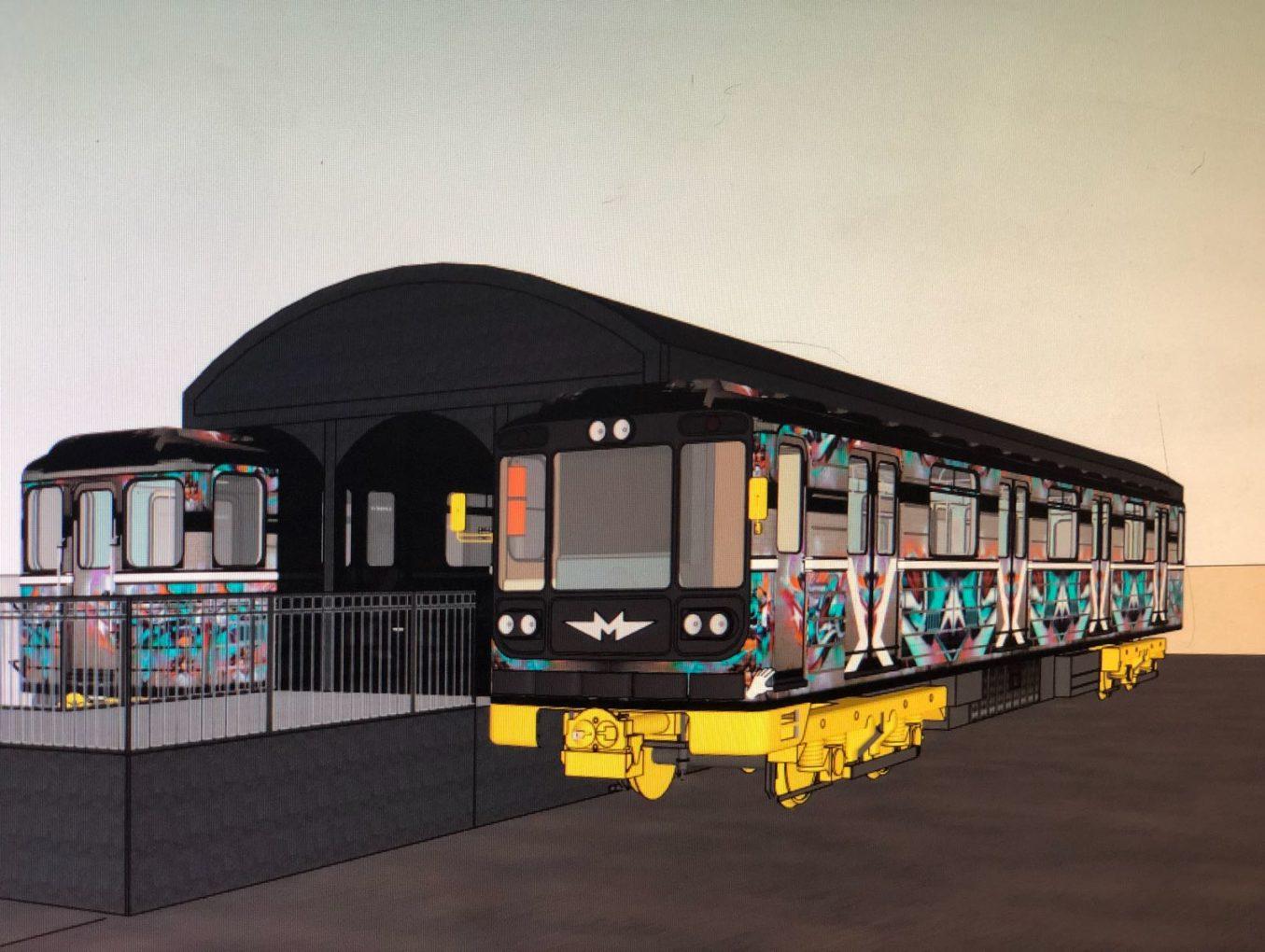 В Киеве появится уникальный хостел из вагонов метро