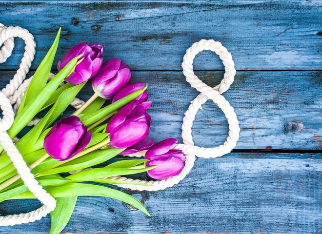 Красивые и душевные поздравления с 8 марта