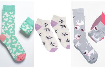 5 пар ярких носков с рисунками, которые пригодятся вам этой весной