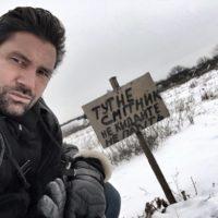 """Звезда """"Хоббита"""" приехал в Киев и поделился кадрами города"""