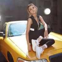 Селена Гомес в стильном образе снялась для рекламной кампании Puma