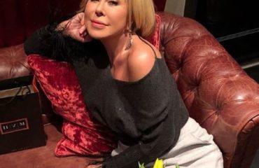 Любовь Успенская выступила для украинских VIP-ов в Киеве