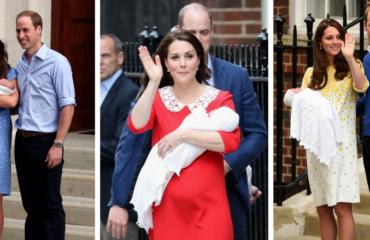 Три платья Кейт Миддлтон, которые вошли в историю благодаря ее детям