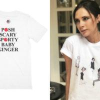Виктория Бекхэм выпустила коллекцию футболок со Spice Girls