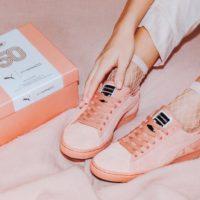 Обувь под цвет помады: PUMA и M.A.C представили совместную линейку