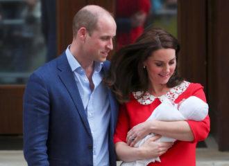 Кейт Миддлтон и принц Уильям выбрали  имя новорожденному принцу