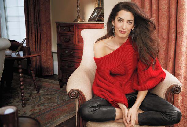 Амаль Клуни рассказала о жизни с Джорджем Клуни после рождения детей