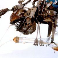 Искусство из горы металлолома: в Киеве проходит необычная выставка Андрея Северинко
