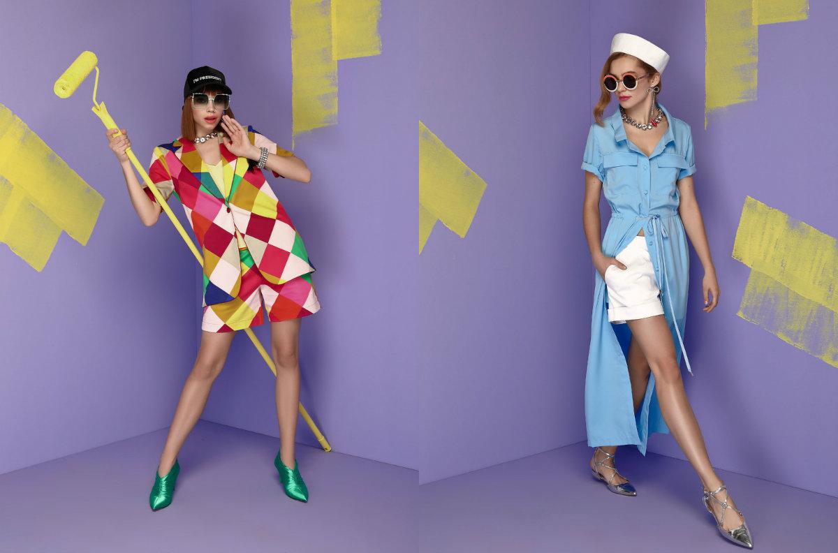 Летние тренды 2018: яркие краски, выразительные принты, деним и ретро-стиль в новой коллекции Андре Тана