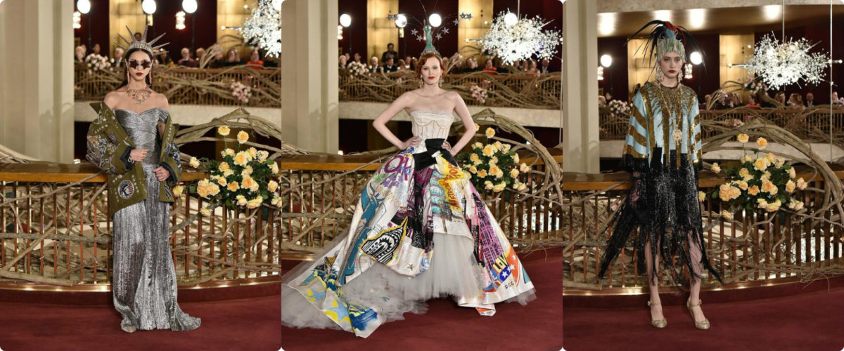 Кабаре в Нью-Йорке: Dolce & Gabbana устроили необычный показ