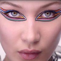 Как создать яркий макияж глаз: мастер-класс от Беллы Хадид