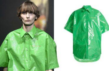 Balenciaga продают рубашку из обычного полиэтилена