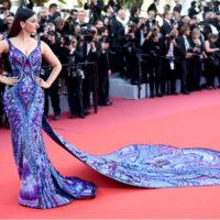 Канны 2018: платье для Айшварии Рай изготавливали 3000 часов