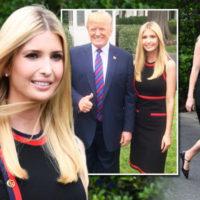 Иванка Трамп сыграла в футбол в платье от Gucci