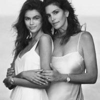 Синди Кроуфорд с дочерью снялась в рекламе часов