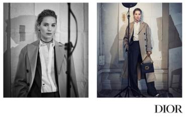 Дженнифер Лоуренс стала лицом новой коллекции Dior