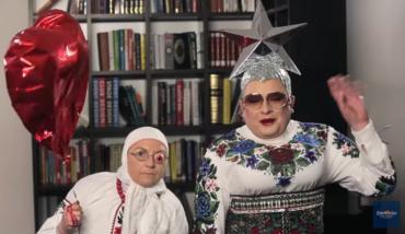 Верка Сердючка и ее мама записали видеообращение для MELOVIN