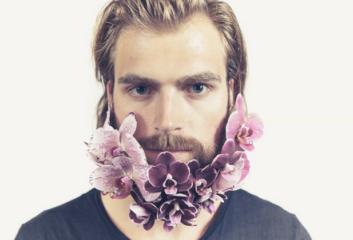 Бороды в цветах: новый тренд в Instagram