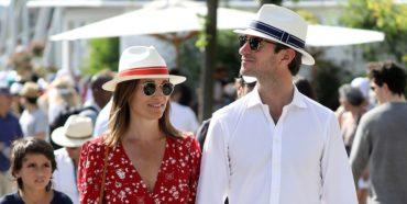 Образ звезды: Пиппа Миддлтон вышла в свет в идеальном летнем платье