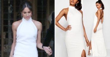 В Интернете продают копию свадебного платья Меган Маркл