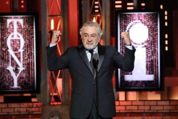 """""""F**k Trump"""": Роберт Де Ниро не сдержал эмоций на Tony Awards"""
