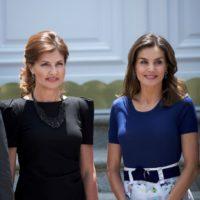 Битва образов: Марина Порошенко встретилась с королевой Летицией в Испании